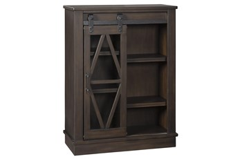 Brownfield Brown Accent Cabinet