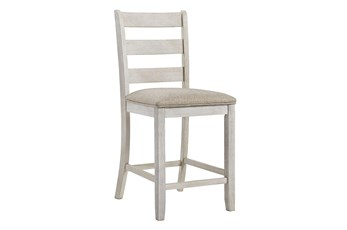 "Scott Antique White 41"" Barstool Set Of 2"
