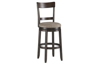 "Andrew Brown Uph Swivel 47"" Barstool Set Of 2"