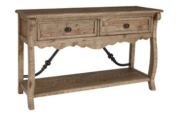 Dabble Two-Tone Sofa Table