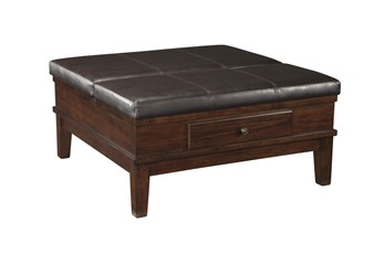 Gates Brown Cocktail Ottoman