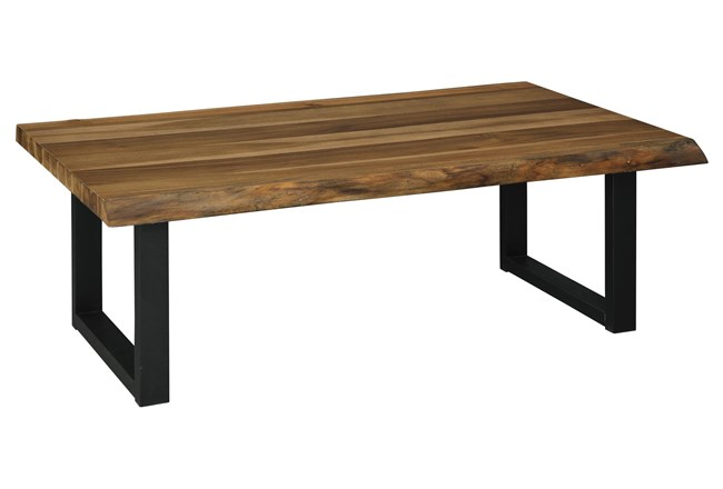 Ward Two-Tone Rectangular Cocktail Table - 360