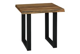Ward Two-Tone Square End Table