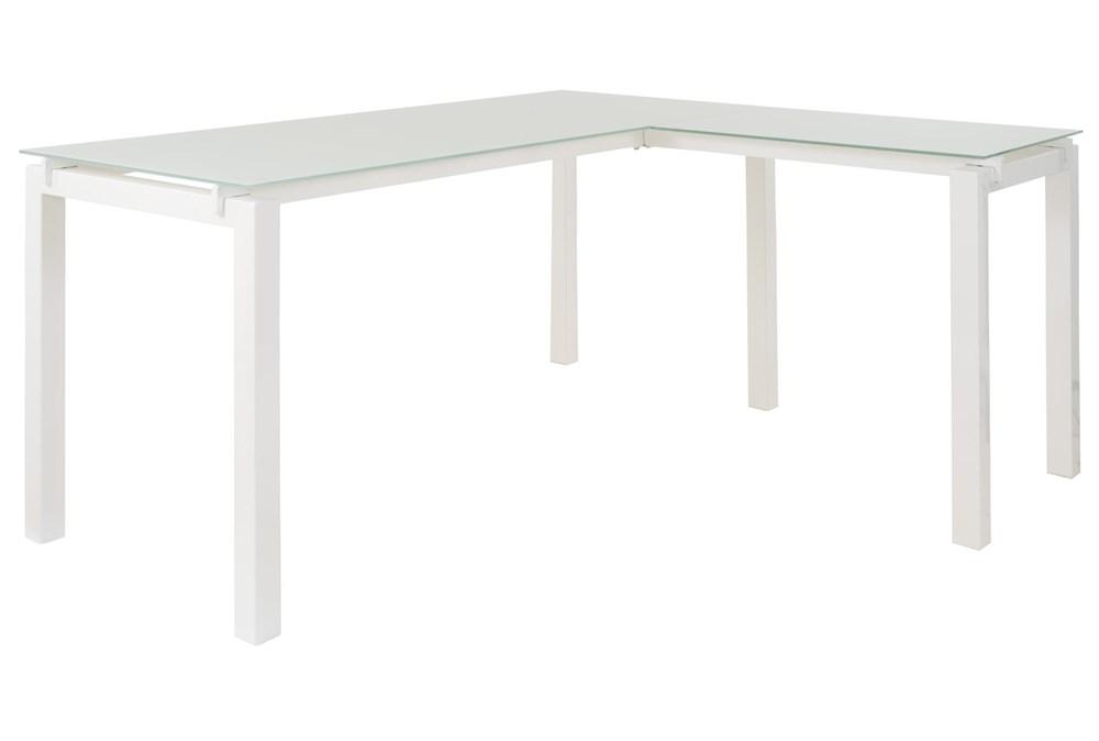 """Remy White L- 61"""" Desk"""