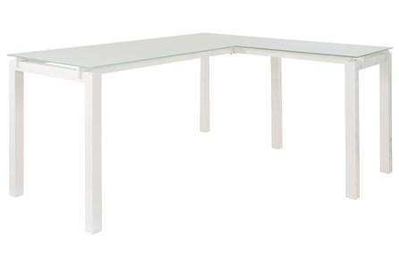 Remy White Corner Desk - Main