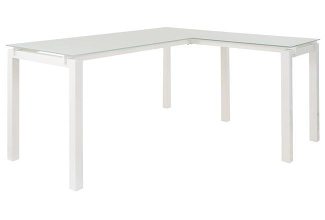 """Remy White L- 61"""" Desk - 360"""