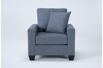 Lorah Denim Chair