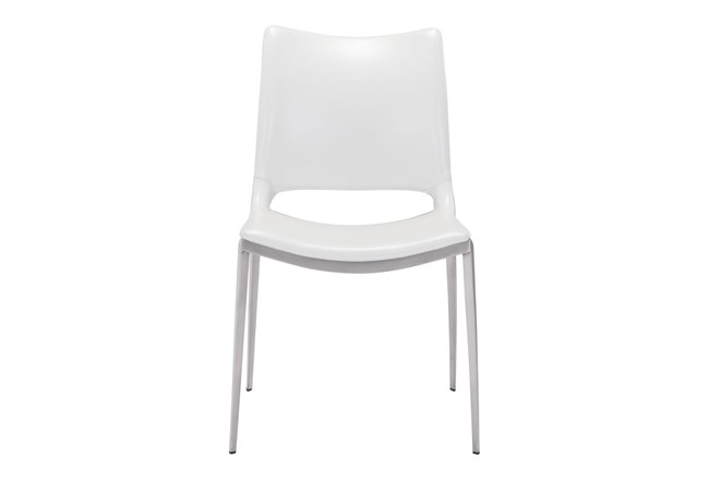 Rondo White Dining Chair Set Of 2 - 360