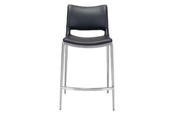 "Rondo Black 25"" Counter Chair Set Of 2"
