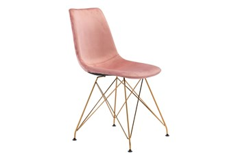 Convo Pink Dining Chair Set of 4