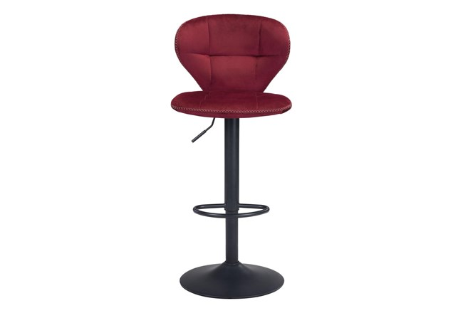 """Era Red 24"""" Bar Chair - 360"""