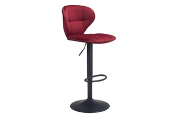 "Era Red 24"" Bar Chair"