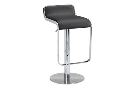 Equinox Black 31 Inch Adjustable Barstool - Main