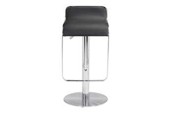 "Equinox Black 31"" Adjustable Barstool"