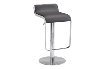 Equinox Espresso 31 Inch Adjustable Barstool