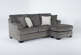 """Roland 92"""" Sofa With Reversible Chaise"""