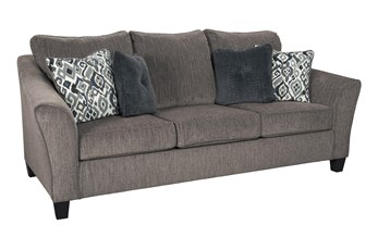 "Nemoli Slate 92"" Queen Sofa Sleeper"