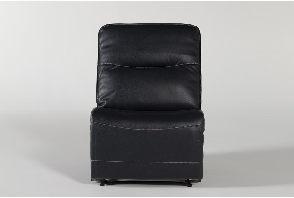 Ciro Navy Armless Recliner