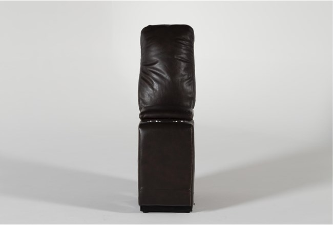 Titus Brown Leather Console - 360