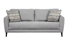 """Cardello Pewter 83"""" Sofa"""