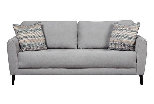 Cardello Pewter Sofa - 360