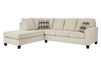 Abinger Natural 2 Piece Sectional With Left Arm Facing Chaise