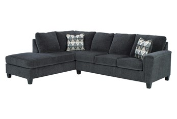 """Abinger Smoke 2 Piece 116"""" Sectional With Left Arm Facing Chaise"""