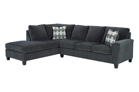 Abinger Smoke 2 Piece Sectional With Left Arm Facing Chaise - Main