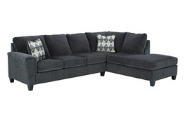 Abinger Smoke 2 Piece Sectional With Right Arm Facing Chaise