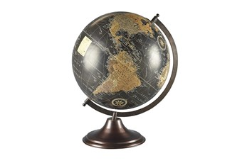 Sphere Multi Colored Globe Sculpture