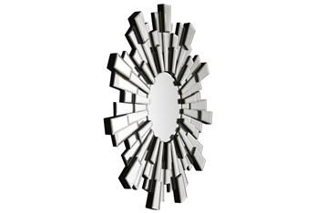 Beveled Sunburst Accent Mirror