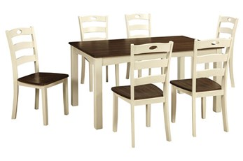 Woodanville 7 Piece Dining Set