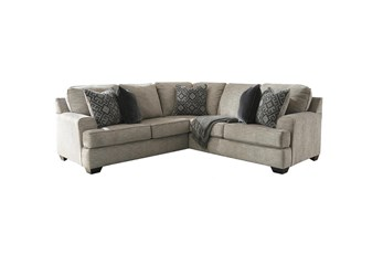Bovarian Stone 2 Piece Sectional With Left Arm Facing Chaise
