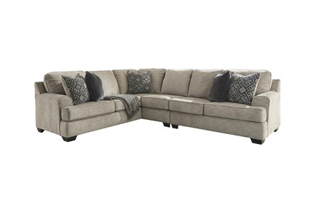 Bovarian Stone 3 Piece Sectional With Right Arm Facing Loveseat - Main