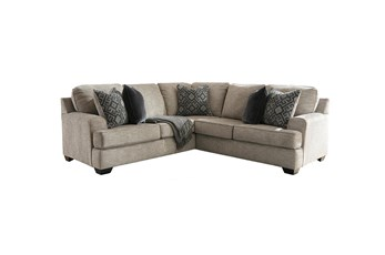 Bovarian Stone 2 Piece Sectional With Right Arm Facing Loveseat