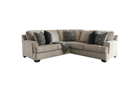 Bovarian Stone 2 Piece Sectional With Right Arm Facing Loveseat - Main