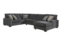 Tracing Slate 3 Piece Sectional With Right Arm Facing Chaise