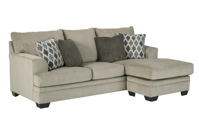 Dorsten Sisal Sofa With Reversible Chaise - 360