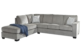 """Altari Alloy 2 Piece 110"""" Sectional With Left Arm Facing Chaise"""