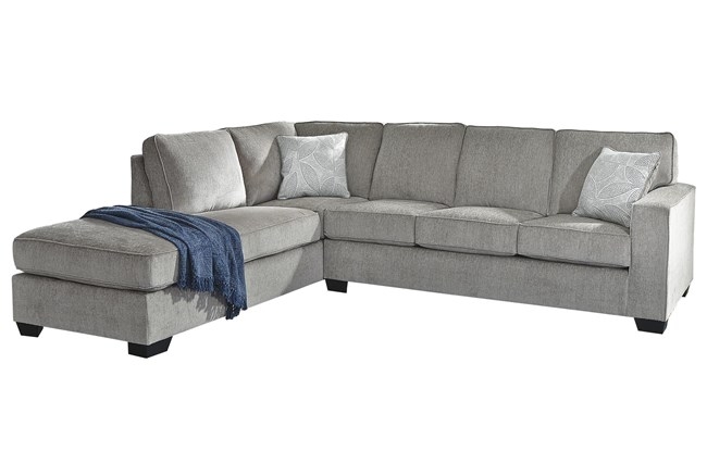 """Altari Alloy 2 Piece 110"""" Sectional With Left Arm Facing Chaise - 360"""