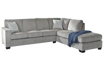 """Altari Alloy 2 Piece 110"""" Sectional With Right Arm Facing Chaise"""