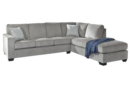 Altari Alloy 2 Piece Sectional With Right Arm Facing Chaise - Main