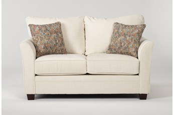 Julia II Cream Loveseat