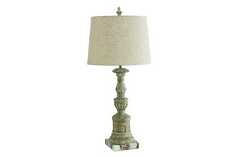 Magnolia Home Pillar Table Lamp W/Linen Shade By Joanna Gaines