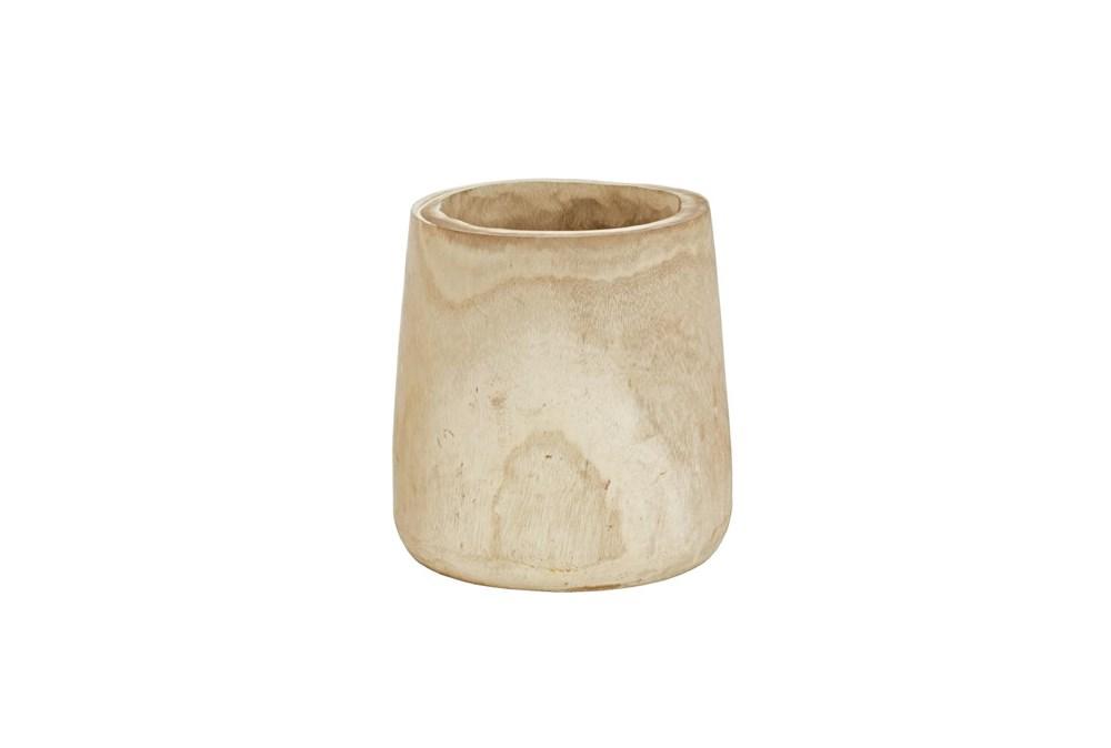 Magnolia Home Paulownia Wood Log Pot Holder By Joanna Gaines