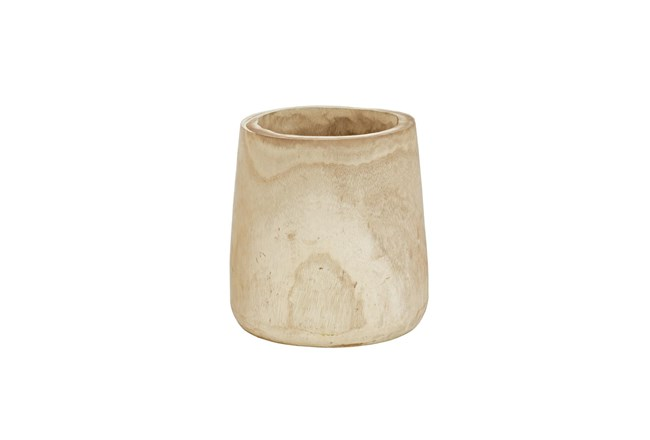 Magnolia Home Paulownia Wood Log Pot Holder By Joanna Gaines - 360