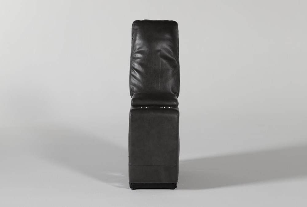 Titus Grey Leather Console