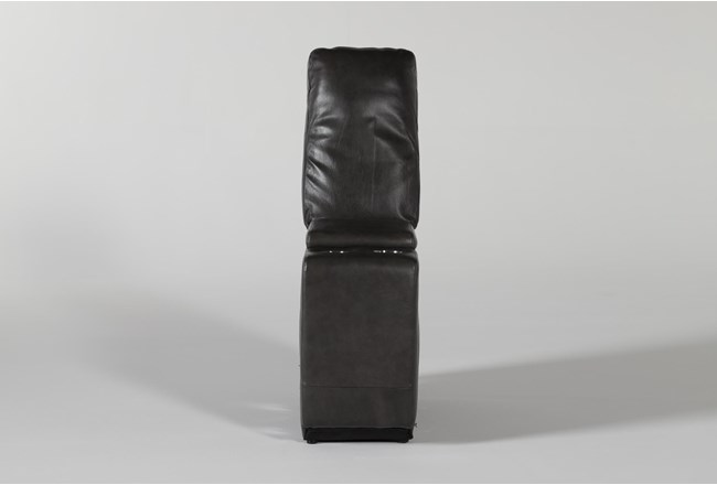 Titus Grey Leather Console - 360