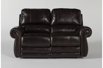 Howell Power Reclining Loveseat With Power Headrest