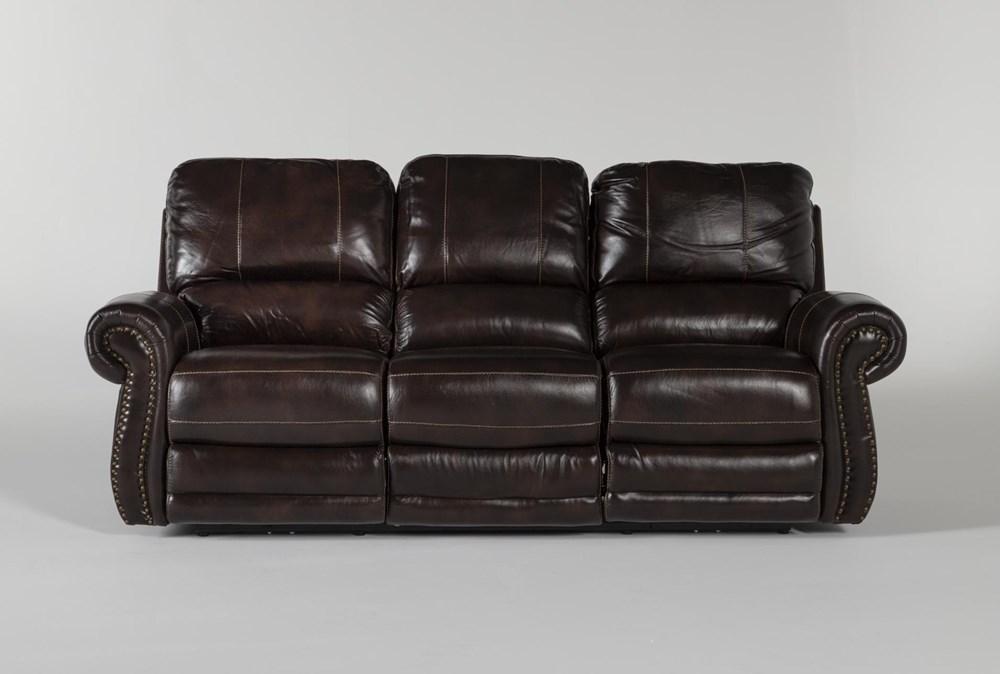 Howell Power Reclining Sofa With Power Headrest